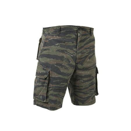 Rothco Vintage Tiger Stripe Paratrooper Cargo Shorts