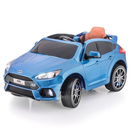 SUPERtrax Licensed Ford Focus Kids Ride on Car, battery powered, remote control W/ Free MP3 Player - Nitrous