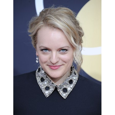 Elisabeth Moss At Arrivals For 75Th Annual Golden Globe Awards - Arrivals 2 The Beverly Hilton Hotel Beverly Hills Ca January 7 2018 Photo By Dee CerconeEverett Collection Celebrity
