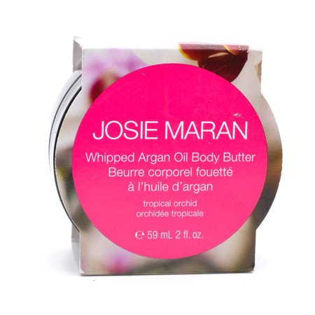 Tropical Butter (Josie Maran Whipped Argan Oil Body Butter, Tropical Orchid 2 fl oz)