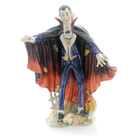 fitz floyd dracula ceramic halloween harvest vampire 68536