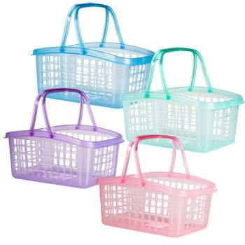 Plastic Easter Basket with Carrying Handles (Green)Great alternative to a traditional basket. By Greenbriar International
