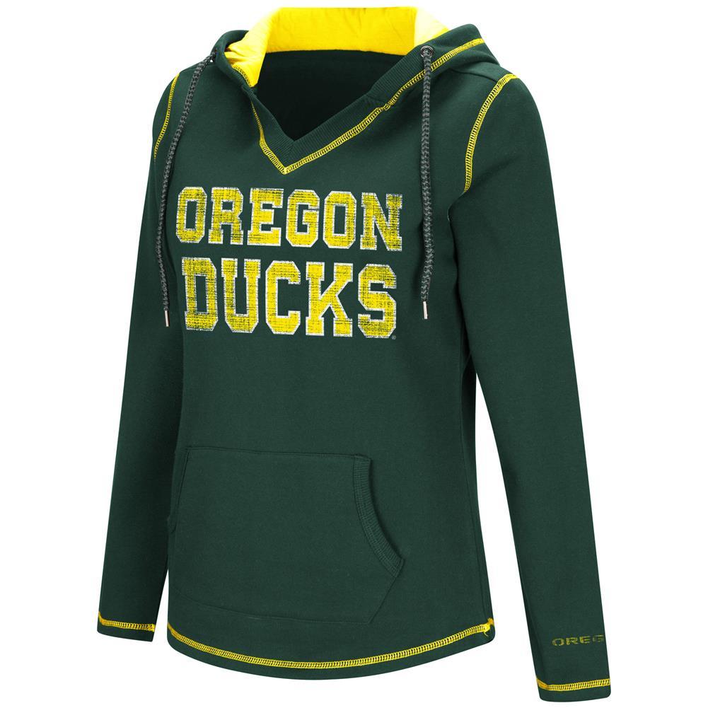 Colosseum Spike University of Oregon Ducks Fleece Hoodie