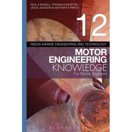 Reeds Vol 12 Motor Engineering Knowledge for Marine Engineers - eBook