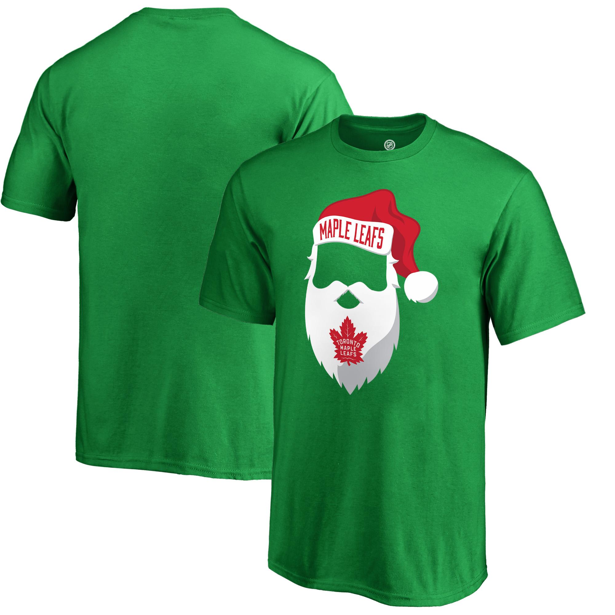 Toronto Maple Leafs Fanatics Branded Youth Jolly T-Shirt - Kelly Green