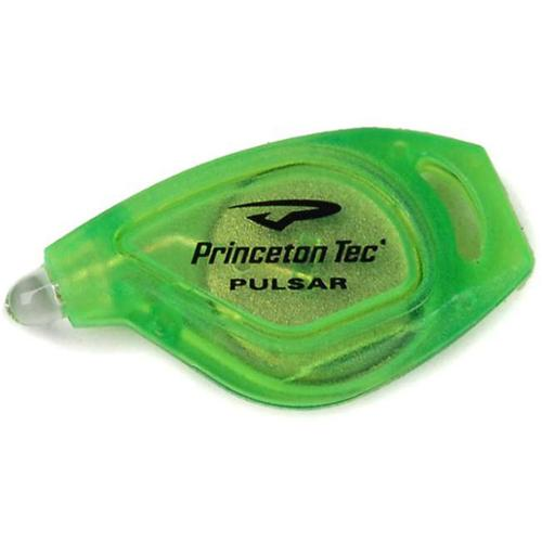 Princeton Tec P-1-NY Pulsar Key Chain Light, Neon Yellow, 10 lm, w/White LED