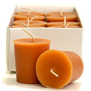 3 Boxes of Spiced Pumpkin Votive Candles Votive Candles Pack: 12 per box 1.75 in. diameter x 2 in. (Two's Company Halloween Candles)