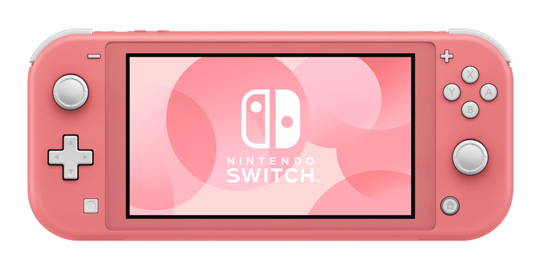 Nintendo Switch Lite Console Coral Walmart Com Walmart Com