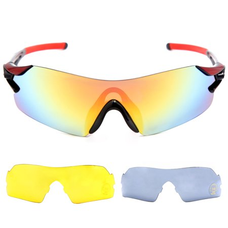 Carryon Authorized Snowboard Ski Goggles Anti-fog UV Protect OTG Over Glasses Skiing Snowmobile (Skiing With Sunglasses)