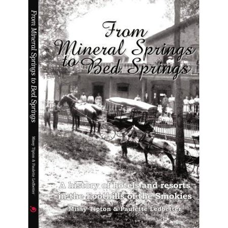 From Mineral Springs To Bed Springs  A History Of Hotels And Resorts In The Foothills Of The Smokies