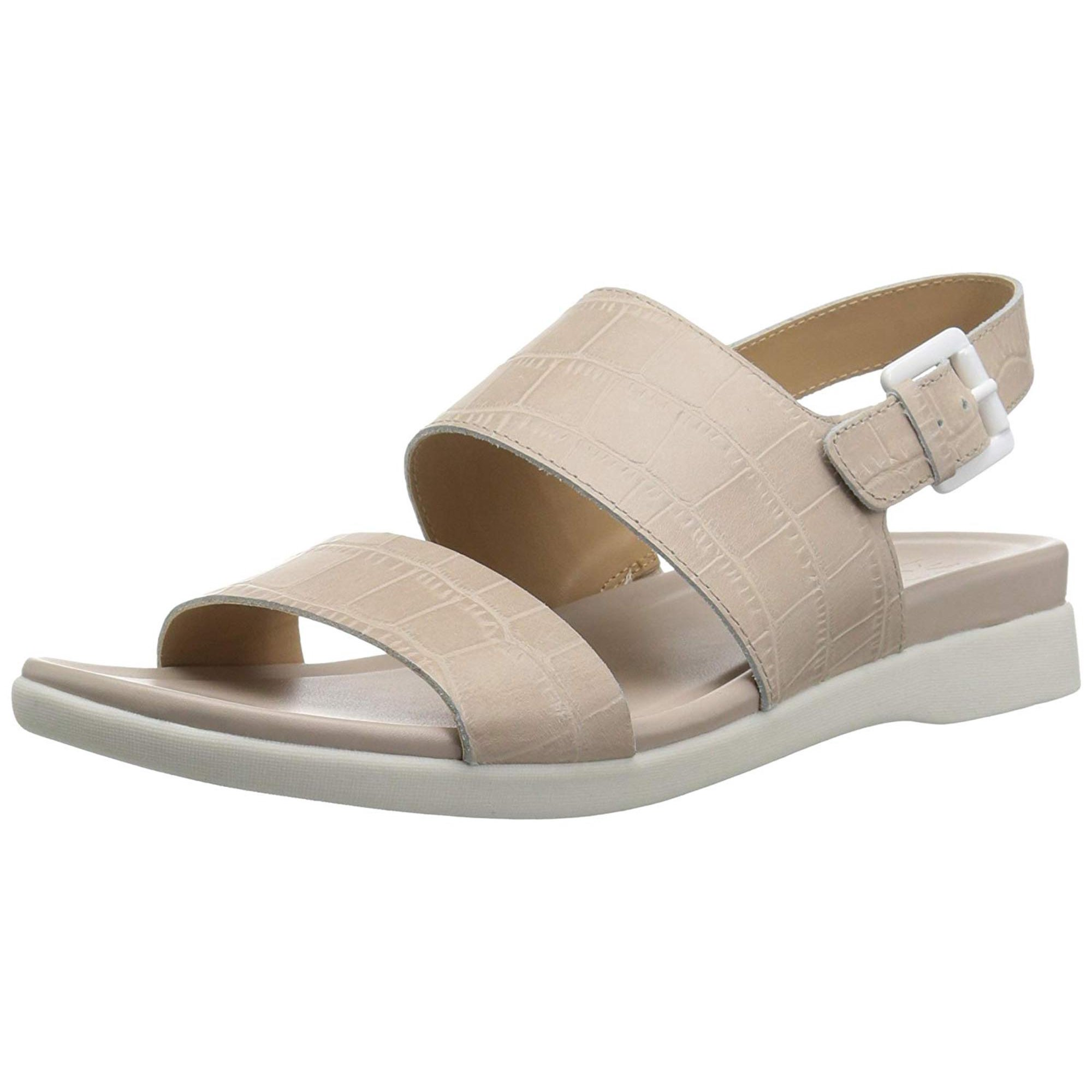 c73bee260 Naturalizer Womens Emory Leather Open Toe Casual