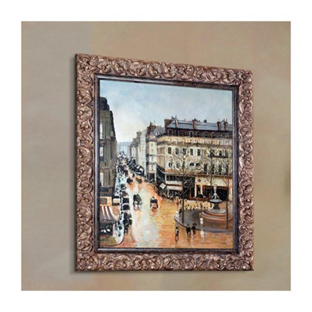 Tori Home Rue Saint Honore Afternoon By Camille Pissarro Framed Painting