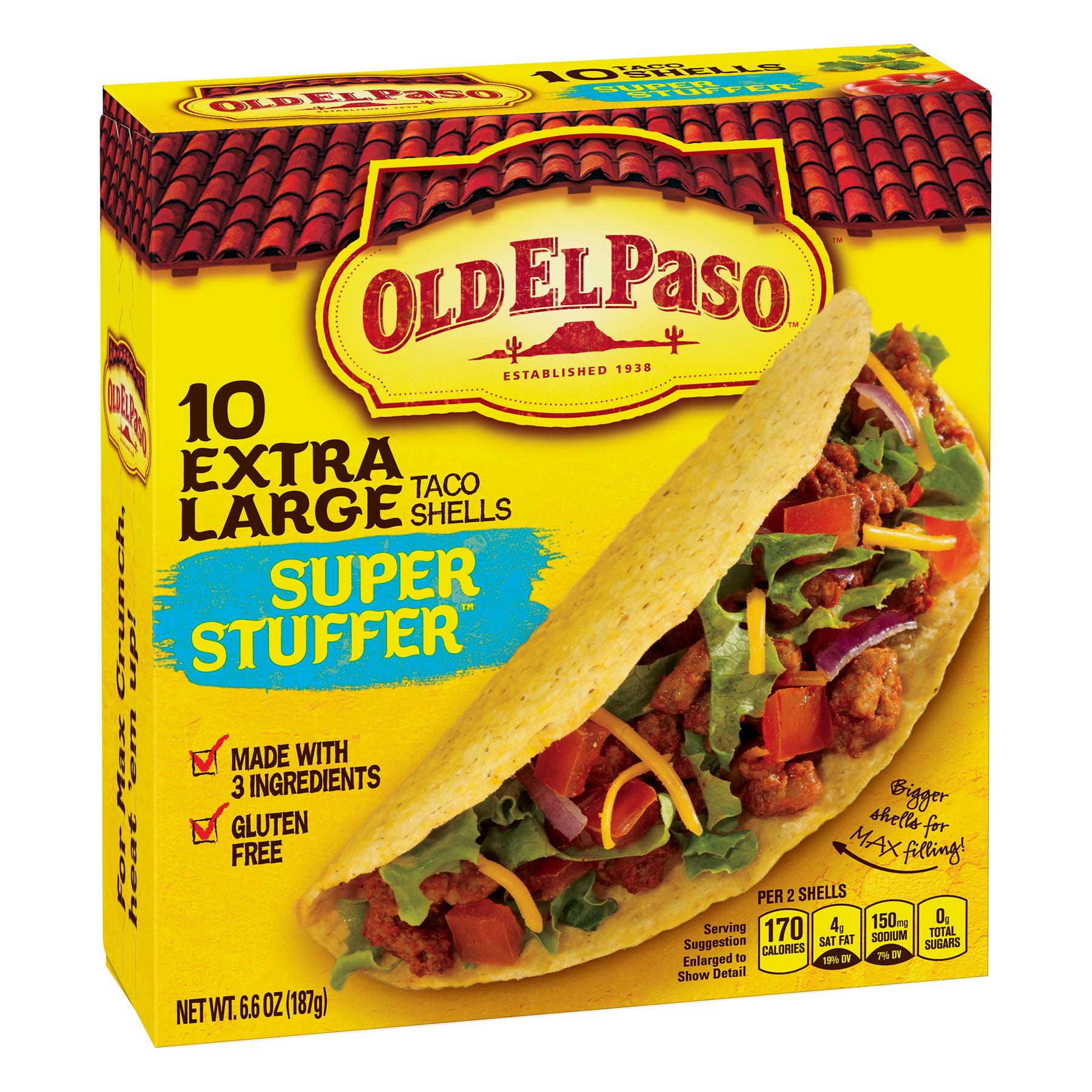 Old El Paso Super Stuffer Shells, 10 Count, 6.6 oz