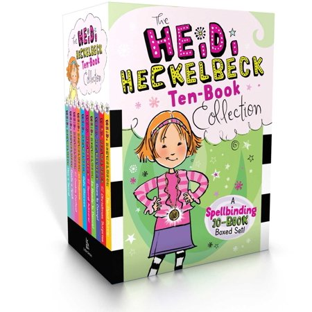 The Heidi Heckelbeck Ten-Book Collection : Heidi Heckelbeck Has a Secret; Casts a Spell; and the Cookie Contest; in Disguise; Gets Glasses; and the Secret Admirer; Is Ready to Dance!; Goes to Camp!; and the Christmas Surprise; and the Tie-Dyed Bunny (Halloween Spell Book Pages)