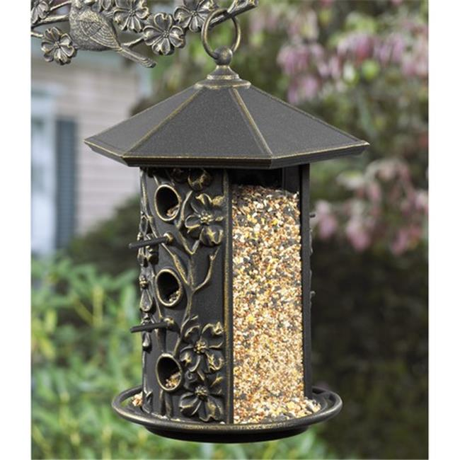 Dogwood Bird Feeder - Oil Rub Bronze