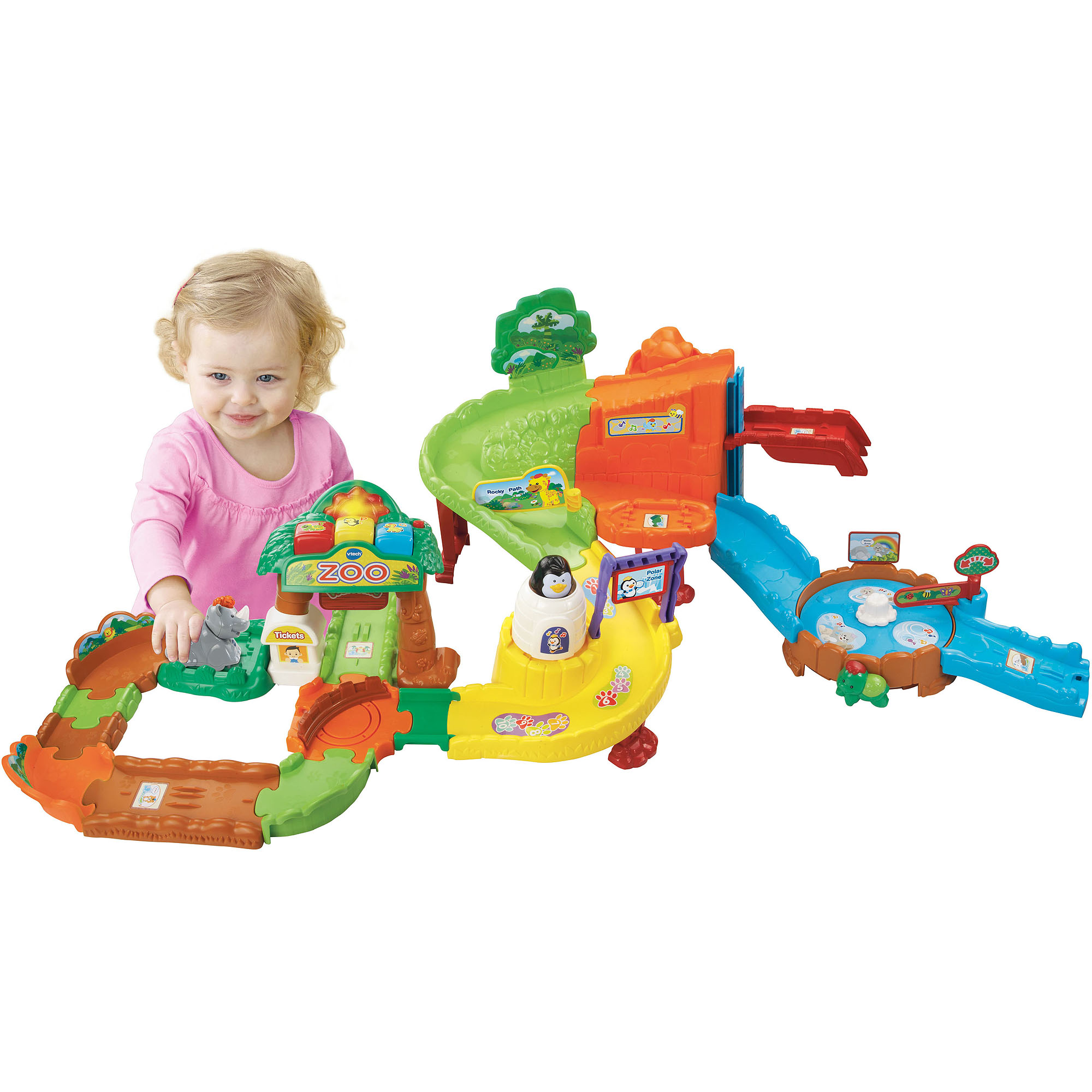 VTech Go Go Smart Animals Zoo Explorers Playset Walmart