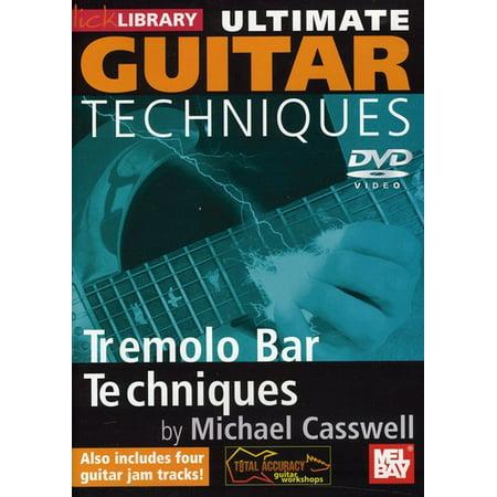 Ultimate Guitar Techniques: Tremolo Bar Tecniques (DVD) Dvd Guitar Lick Library