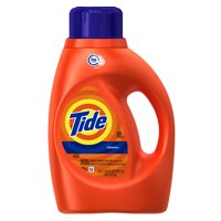 Tide Original Scent HE Turbo Clean Liquid Laundry Detergent 40 oz 25 loads