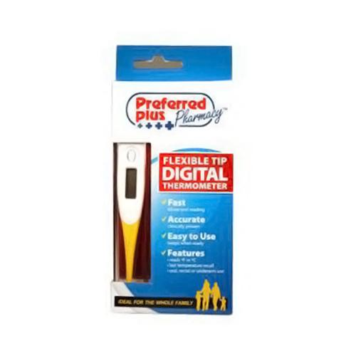 Preferred Plus Flexible Tip Digital Thermometer - 1 Ea