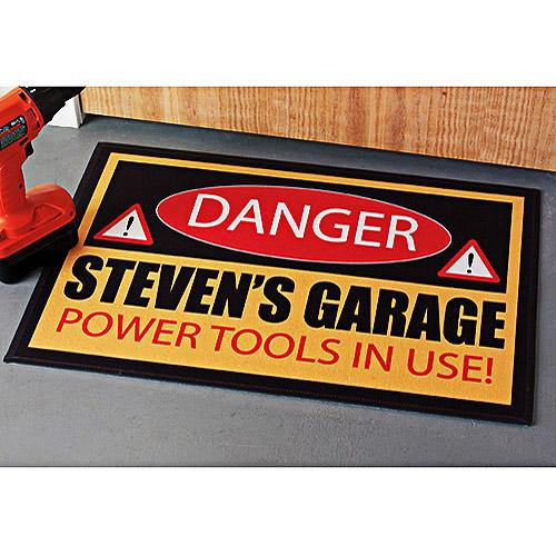 Personalized Warning Doormat - 24x36