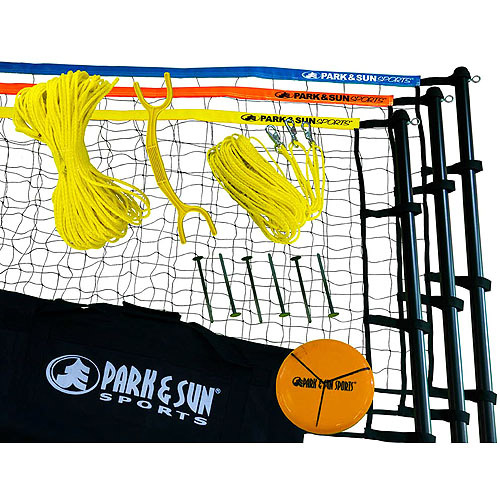 Park & Sun Tri-Ball Rec 3-Way Volleyball Set