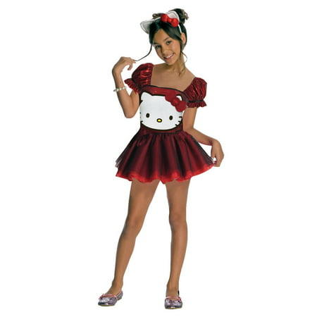 Child Hello Kitty Sequin Dress Rubies 881658 - Hello Kitty Adult Halloween Costume