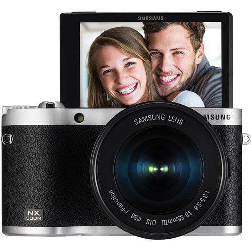 Samsung NX300M Mirrorless Digital Camera With 18-55MM F/3...