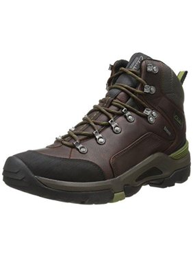 Clarks Men's Outride Hi GTX Boots Hiking Boot, Brown Leather