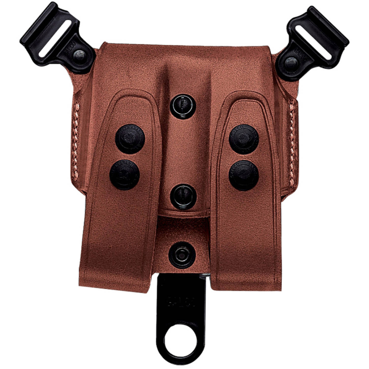 Galco SCL26 Double Magazine Case 1911 Shoulder System Tan Steerhide by GALCO INTERNATIONAL