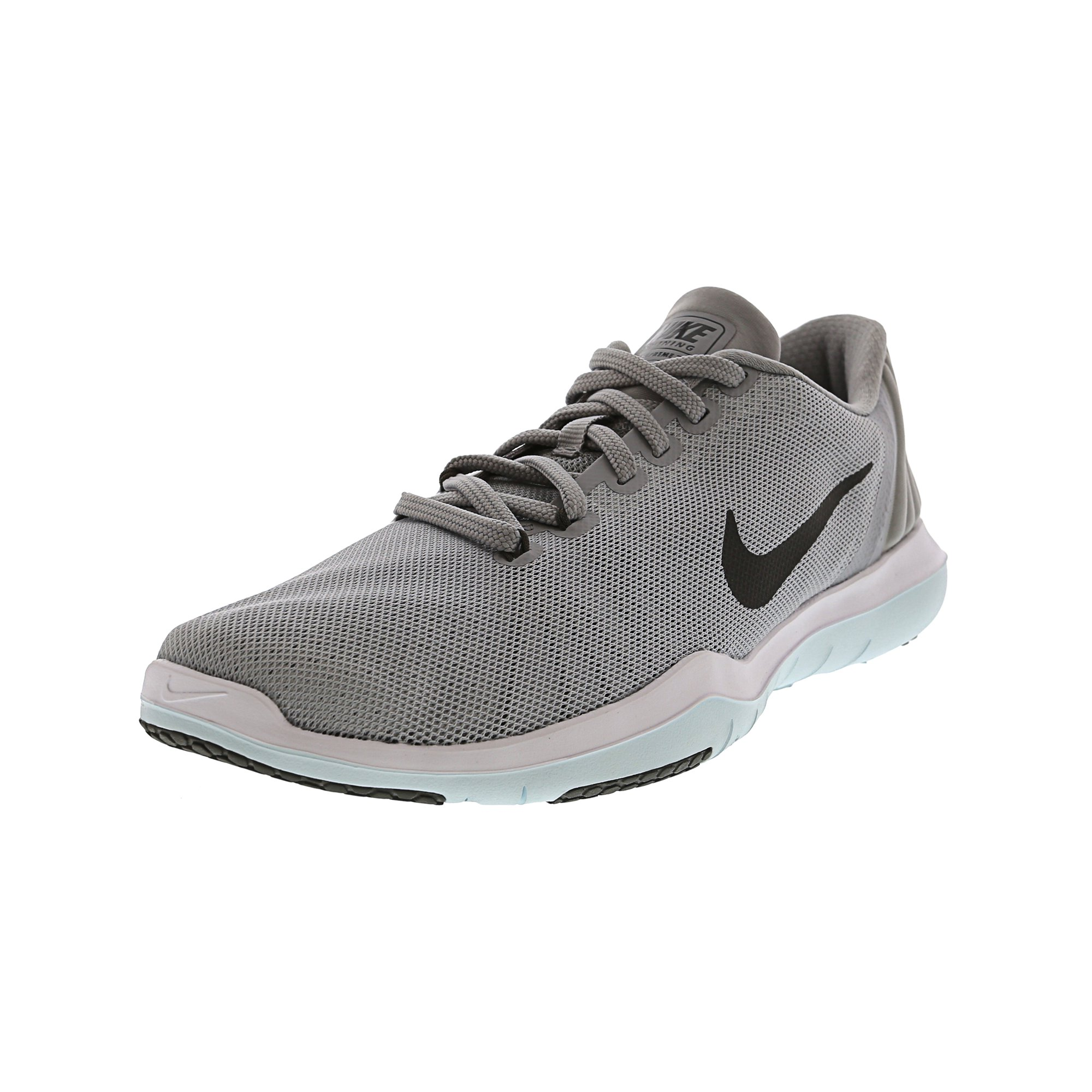 05d0acf73deb Nike Women s Flex Supreme Tr 5 Wolf Grey   Dark - White Ankle-High Running Shoe  9.5M