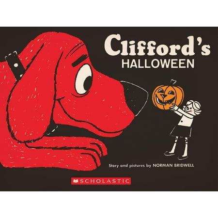 Clifford's Halloween: Vintage Hardcover Edition - Clifford Halloween Activities