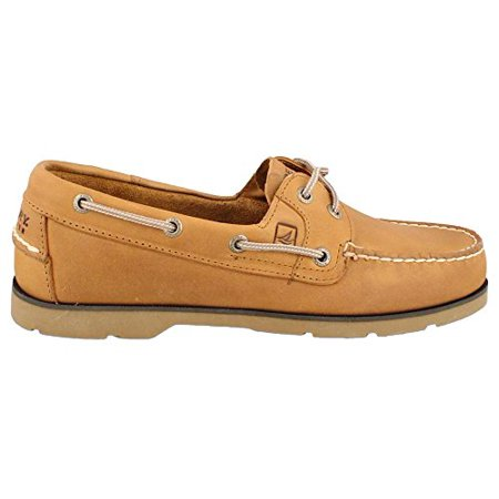 Sperry Top-Sider Leeward 2 Eye Boat Shoe,Sahara,8 M