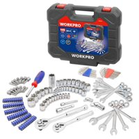 Workpro 145 Piece Mechanic Tool Kit 1/4
