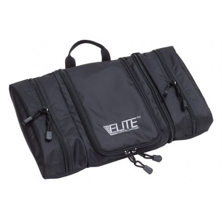 Elite Survival Systems Travel Prone Toiletry Kit, Black