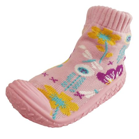 Infant Q Baby Girl Anti-slip Rubber First Walking Sock Shoes Flowers Pattern](Chuck Taylors Baby)