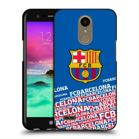OFFICIAL FC BARCELONA 2017/18 CREST BLACK SOFT GEL CASE FOR LG PHONES