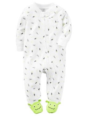 36838f6f8 Off-White Baby Boys Pajamas - Walmart.com