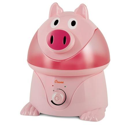 Walmart: Crane Adorable Ultrasonic Cool Mist Humidifier - Pig Only $24.43
