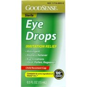 Good Sense Irritation Relief Eye Drops , 0.5 oz - Case of 24
