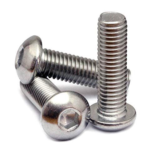 M8 x 50mm ALLEN CAP SCREWS SOCKET SCREW BOLTS STAINLESS STEEL A2 70 DIN 912