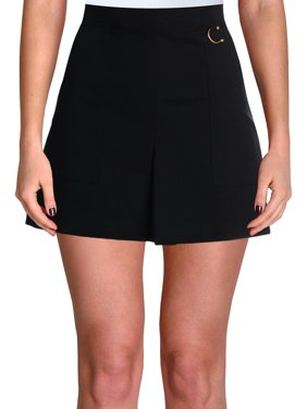 ALC Womens Dane Embellished Pleated Mini Skirt Black 4