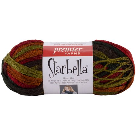 Premier Yarns Starbella Yarn Autumn Multi Colored Walmart Com
