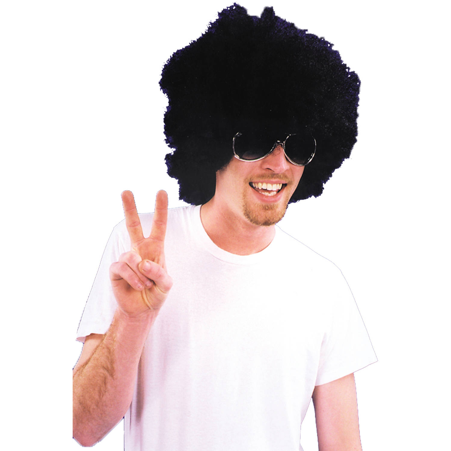 Afro Wig Adult Halloween Accessory