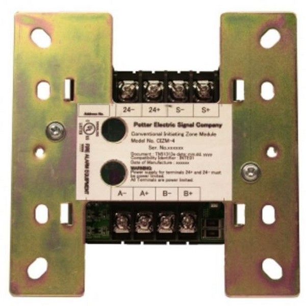 Potter Electric Signal CIZM4 Conventional Zone Mdl