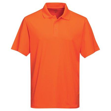 Tri-Mountain Men's Big And Tall Moisture Wicking Polo Shirt