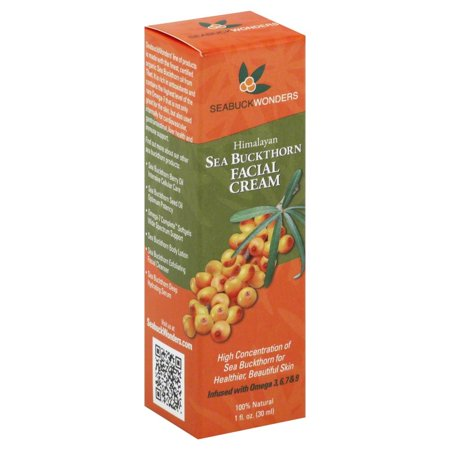 Sea Buckthorn Facial Cream Seabuck Wonders 1 Ounce