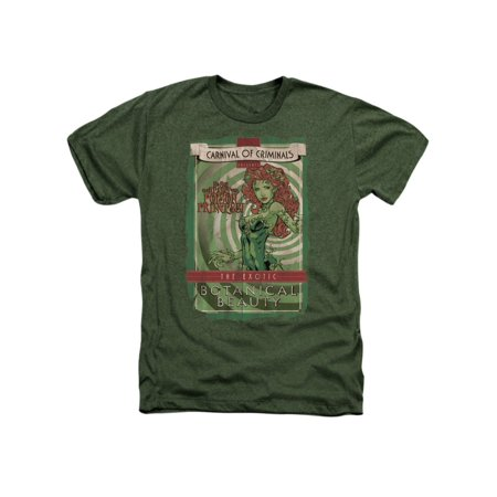 Batman DC Comics Poison Ivy Botanical Beauty Adult Heather T-Shirt Tee](Ivy Batman)