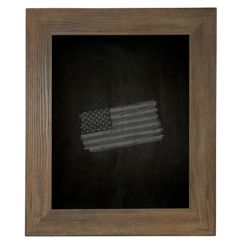 Rayne Mirrors Barnwood Chalkboard