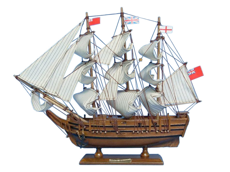 Hms Bounty 15 Wood Ship Model Ready To Display Tall Ship Model Hms Bounty Replica Ship Tall Model Ship Sold Fully Assembled Not A Mod Walmart Com Walmart Com