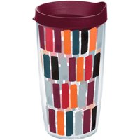 Fiesta Dashes Harvest 16 oz Tumbler with lid